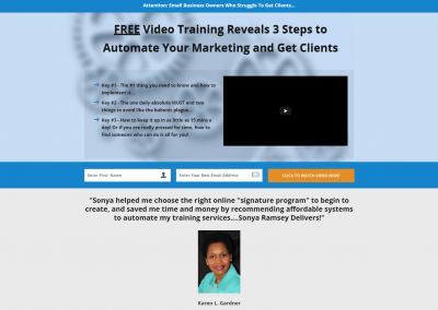 Business Landing Page 1
