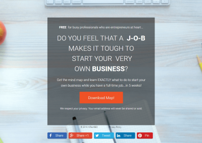 Business Landing Page 3